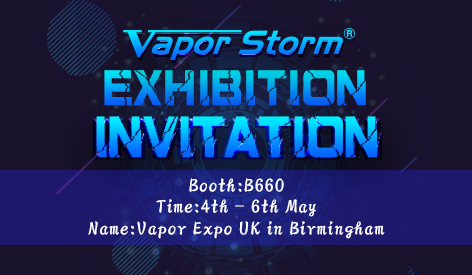 4th-6th May, Welcome to Vapor Expo UK in Birmingham